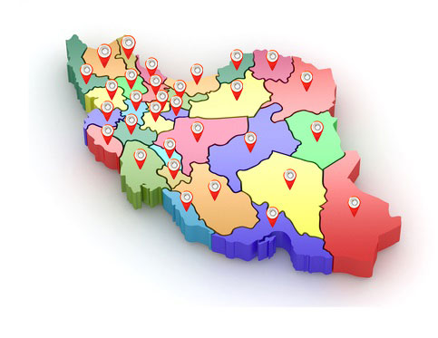 محل خدمت اطلس طلایی ایرانیان پویا